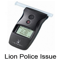 Lion Police Breathalyzer