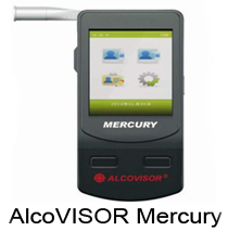 Alcovisor Mercury  Breathalyzer