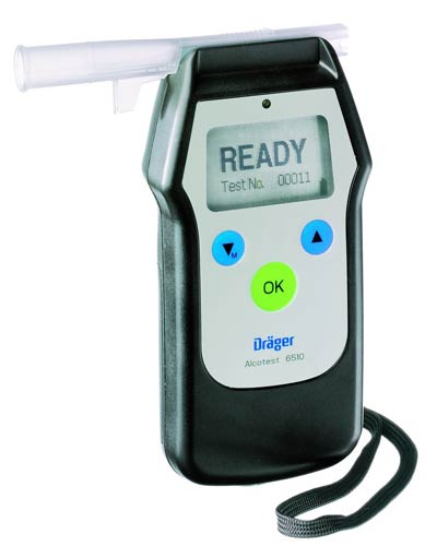 Drager 6510 Alcotest Breathalyzer
