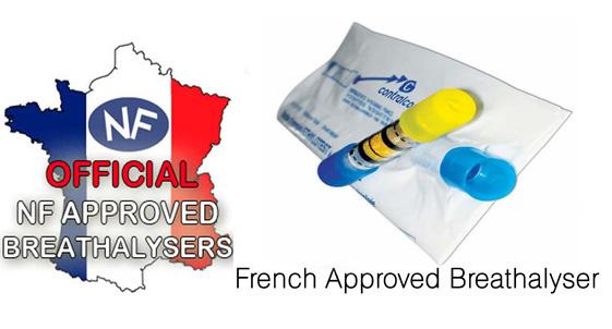 Certified French Breathalyzers French Breathalyzer