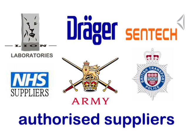 Lion, Draeger, authorised breathalyser suppliers